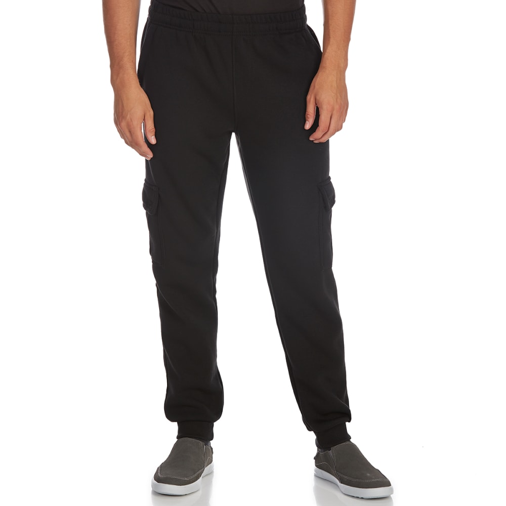 BLUE GEAR Guys' Cargo Jogger Pants - BLACK