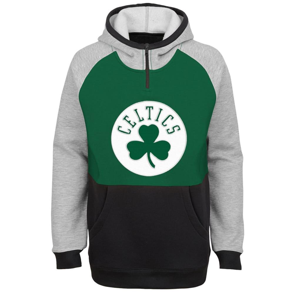 BOSTON CELTICS Big Boys' Regulator Pullover Hoodie - GREEN
