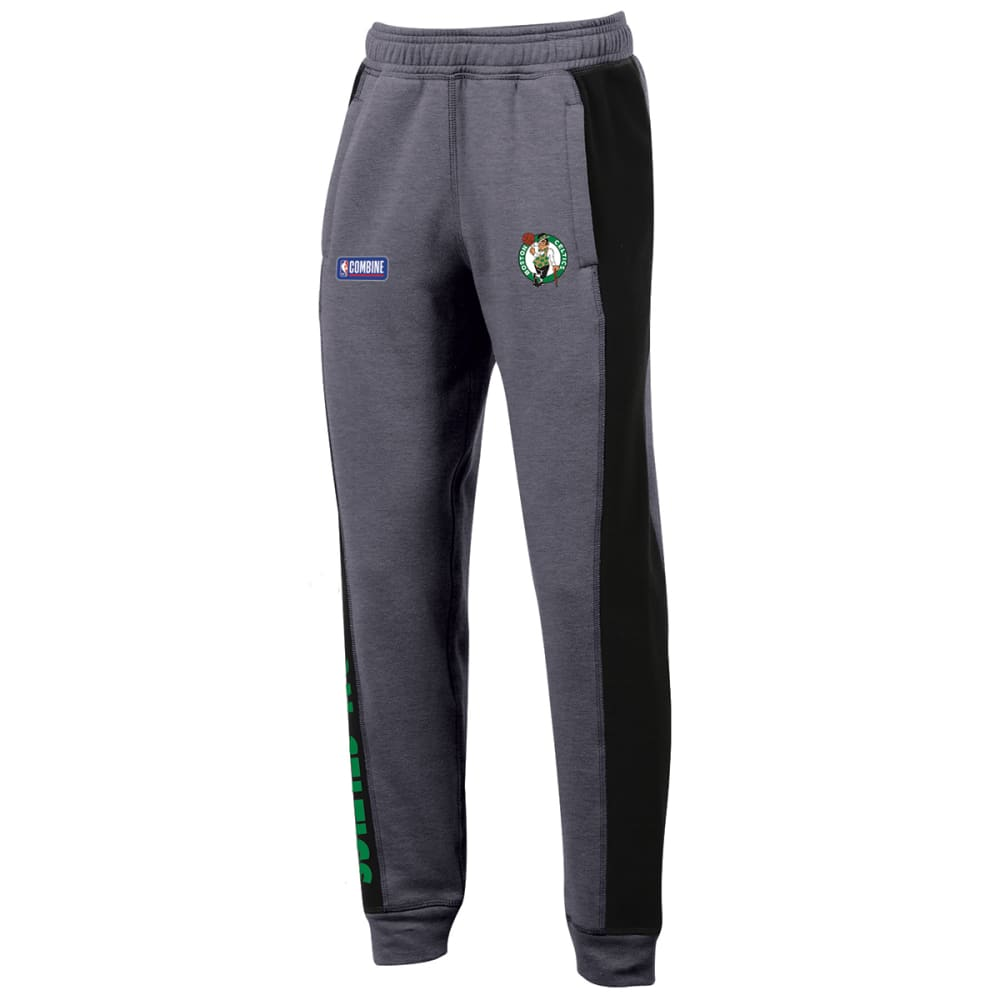 Under Armour Big Boys' Boston Celtics Combine Authentic Ua City Jogger Pants - Black, M