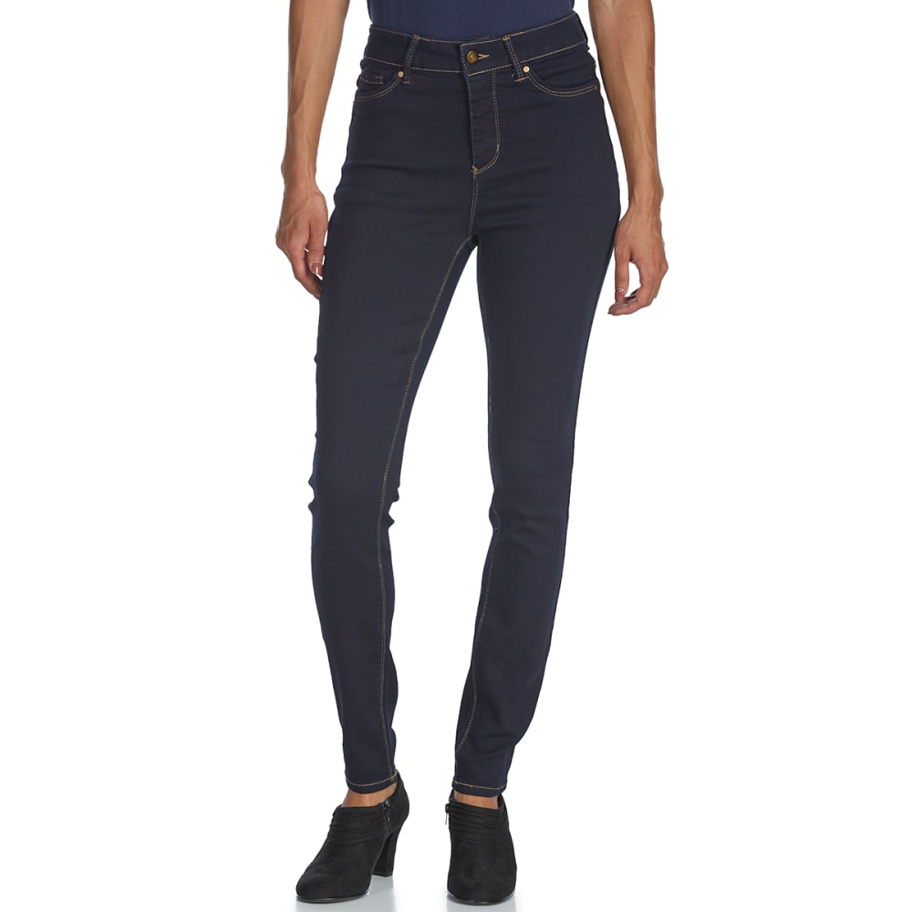 D JEANS Women's High-Rise Skinny Jeans - SS RINSE