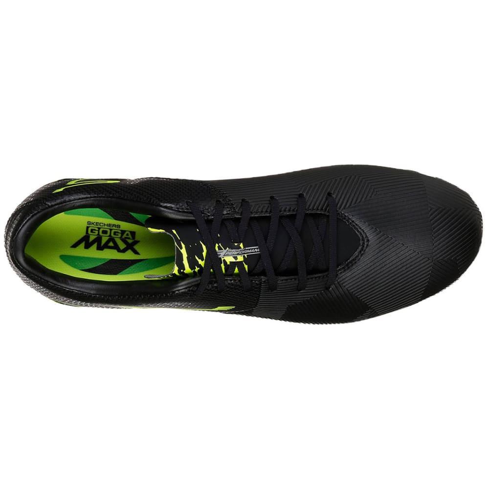 SKECHERS Men's Reflex Soccer Cleat - BLK/LIME-BKLM