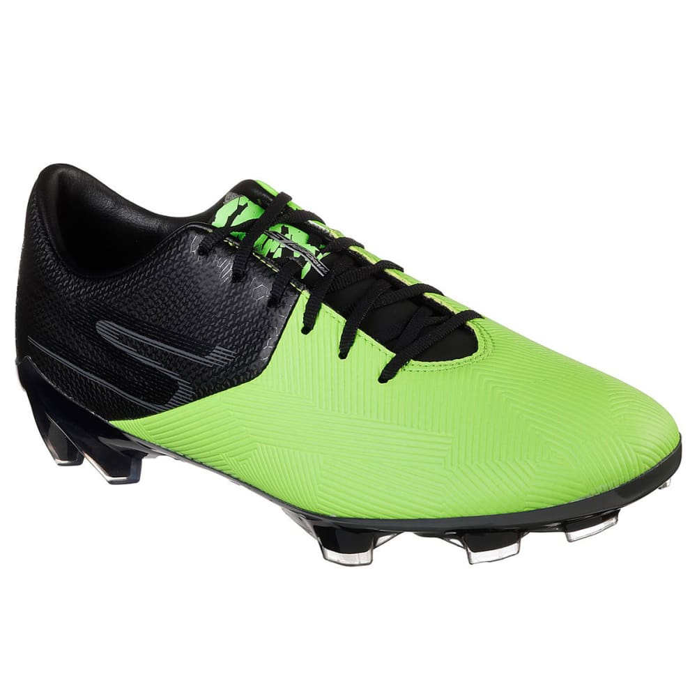 Skechers Men's Reflex Soccer Cleat - Green, 12