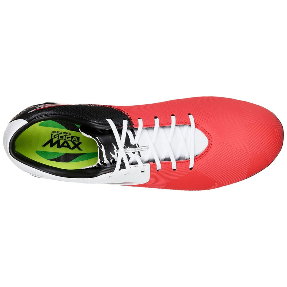 SKECHERS Men's Reflex Soccer Cleat - RED/WHT-RDW