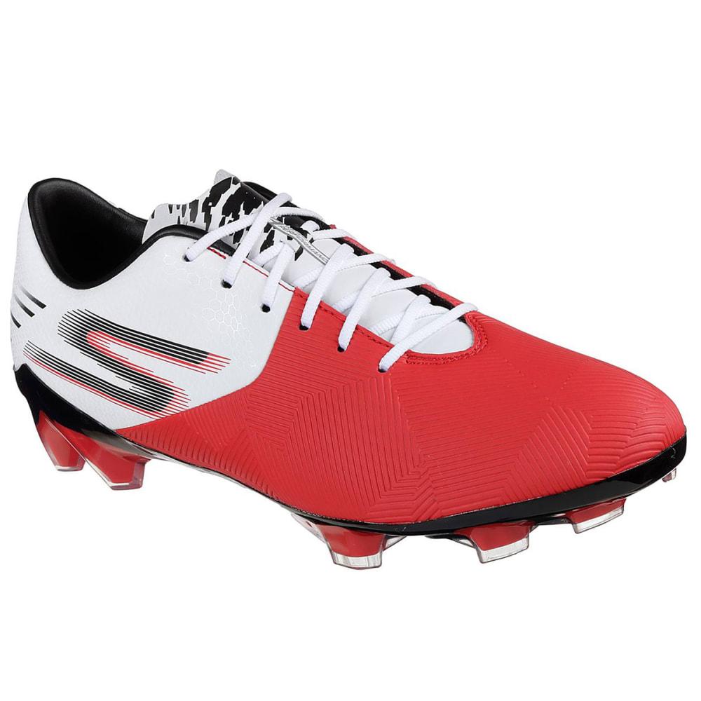 SKECHERS Men's Reflex Soccer Cleat - RED/WHT-RDW
