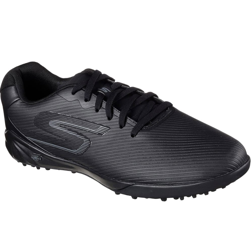SKECHERS Men's Hexgo Control Turf Soccer Shoe - BLACK-BBK