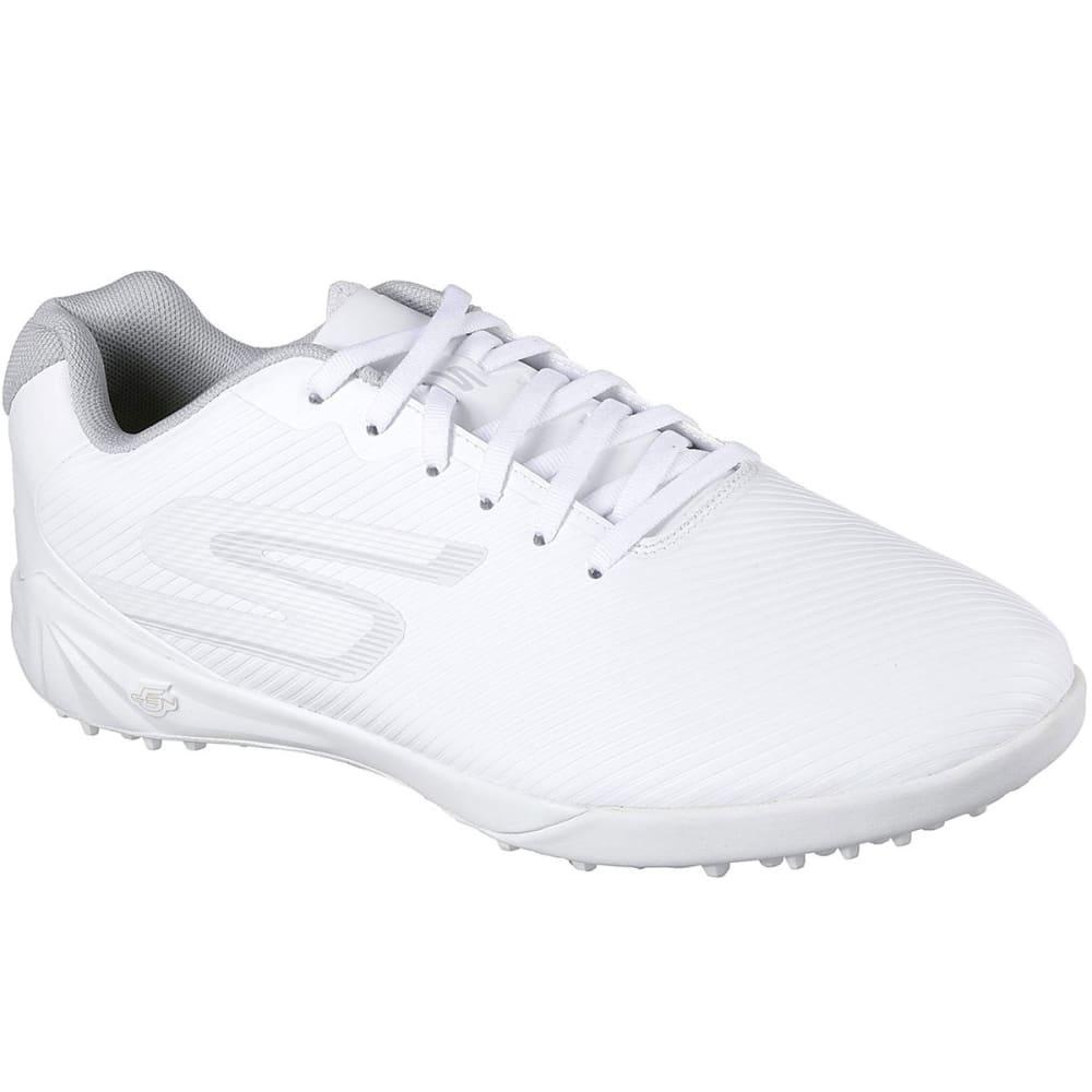 SKECHERS Men's Hexgo Control Turf Soccer Shoe - WHITE-WHT