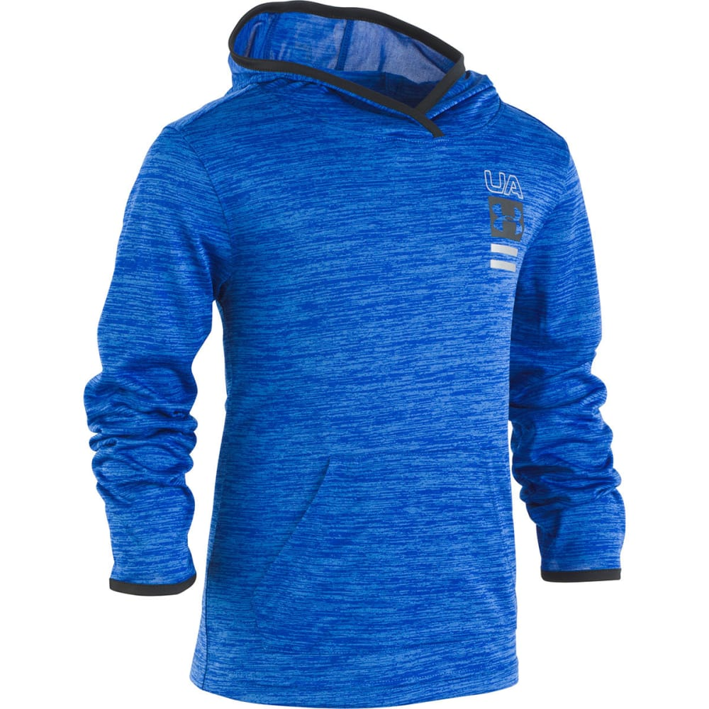 UNDER ARMOUR Little Boys' Twist Double Vision Pullover Hoodie - ROYAL/SAILING BLU-49