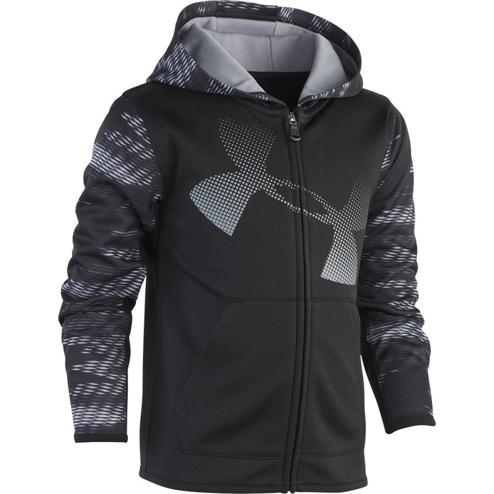 UNDER ARMOUR Little Boys' Trave Full-Zip Hoodie 4