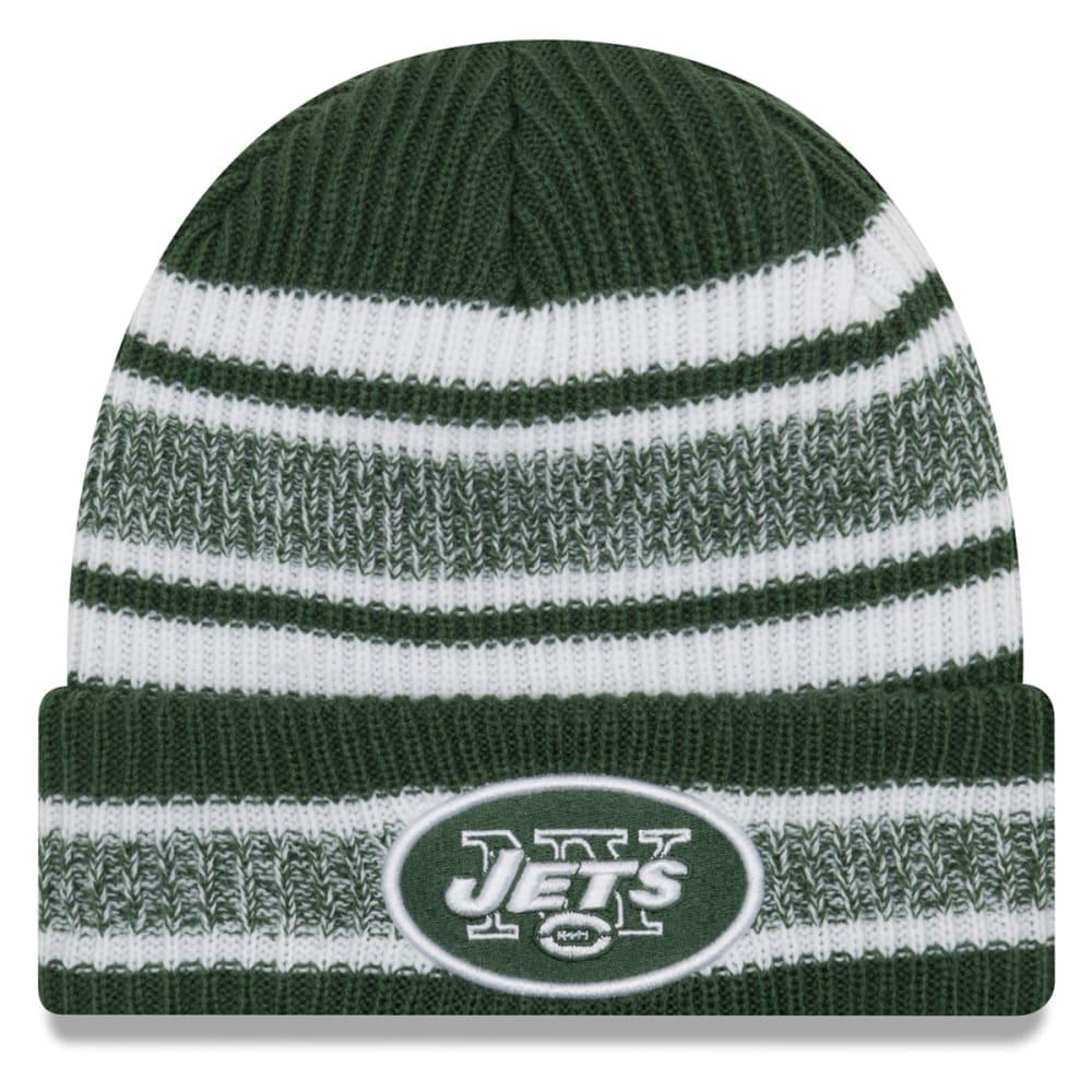 New York Jets Vintage Stripe Cuff Knit Beanie