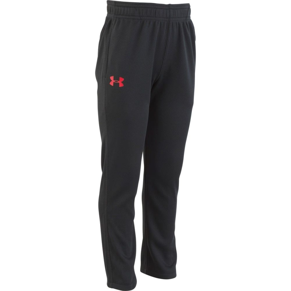 UNDER ARMOUR Little Boys' Brute Pants - BLACK/RED-18