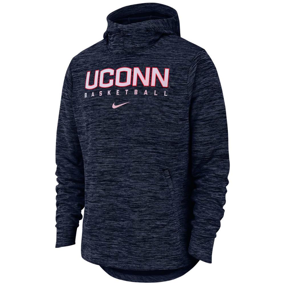 NIKE Men's UConn Spotlight Pullover Hoodie - NAVY
