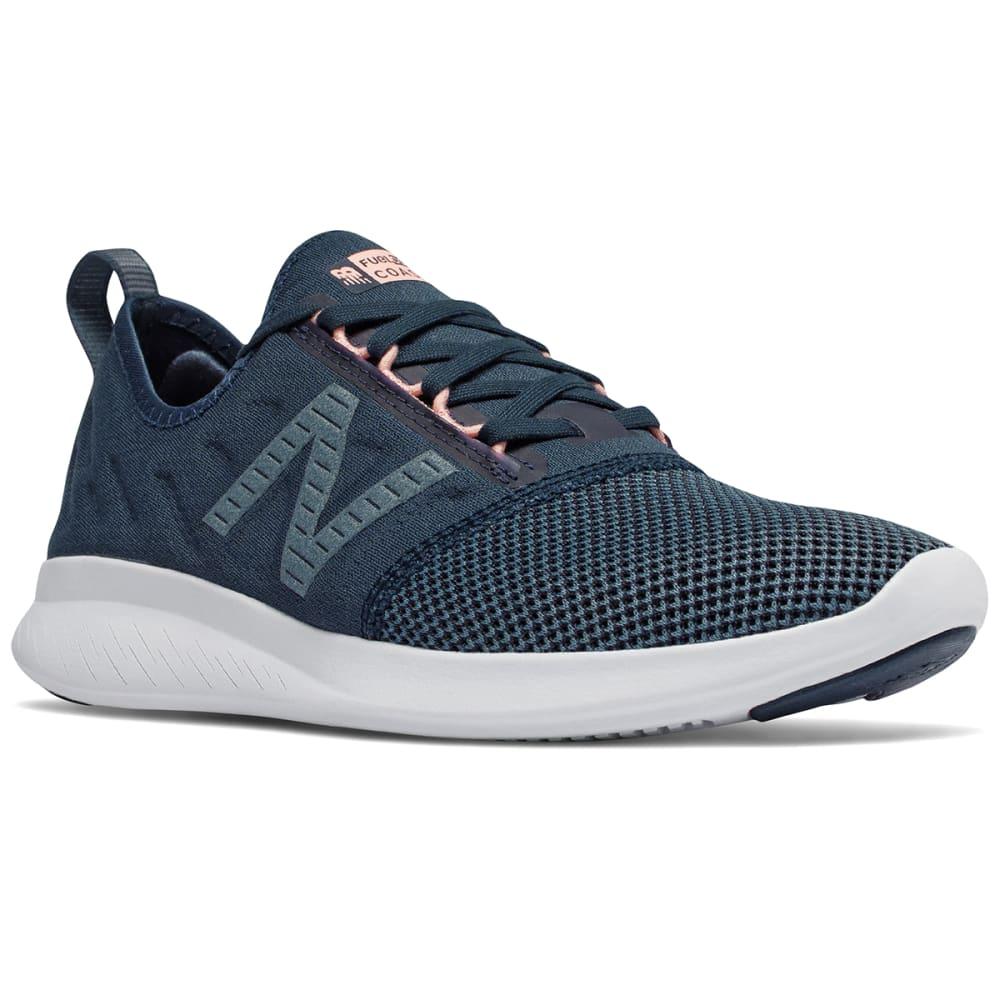 New Balance Women's Fuelcore Coast V4 Running Shoes - Blue, 6