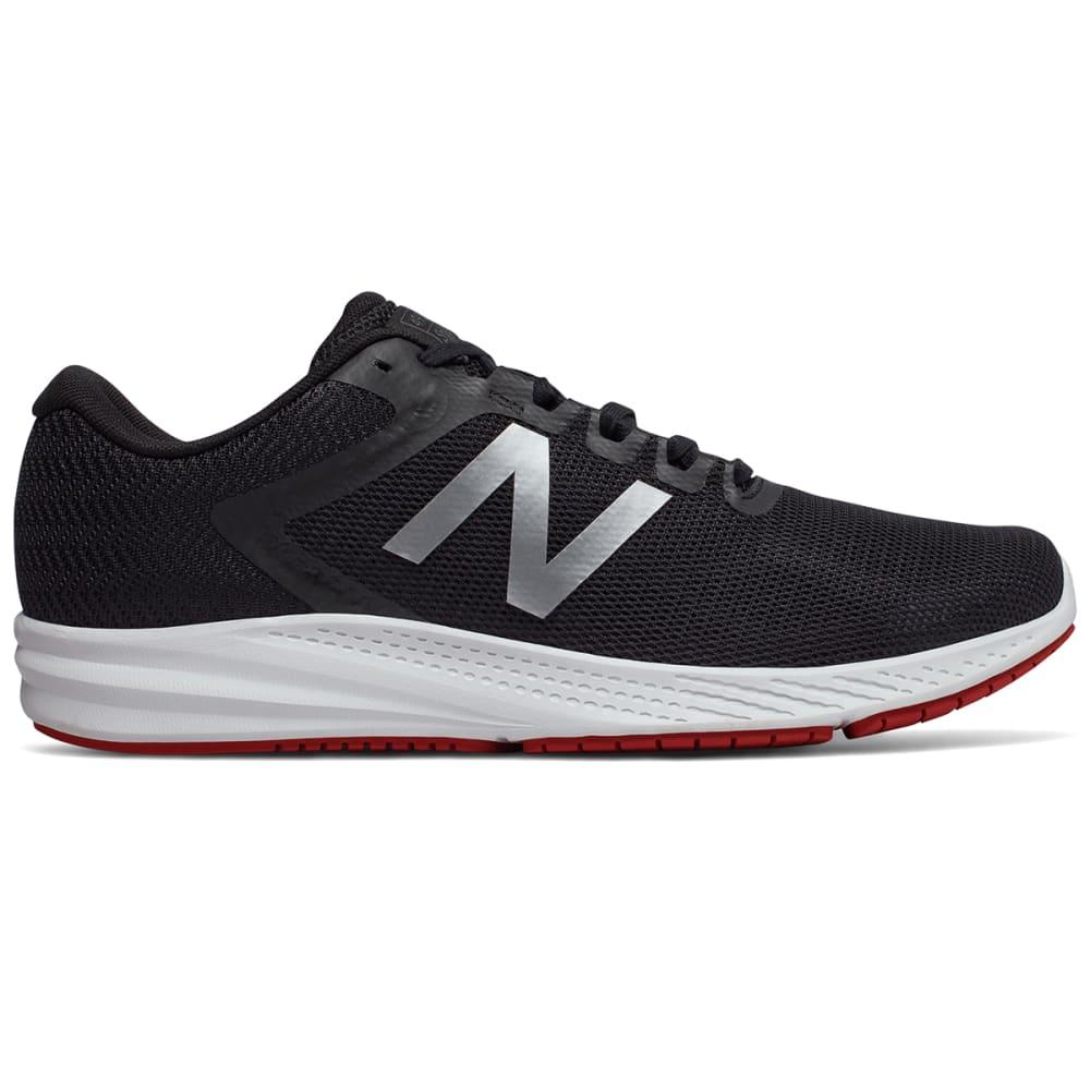New Balance Men's 490V6 Running Shoes - Black, 8