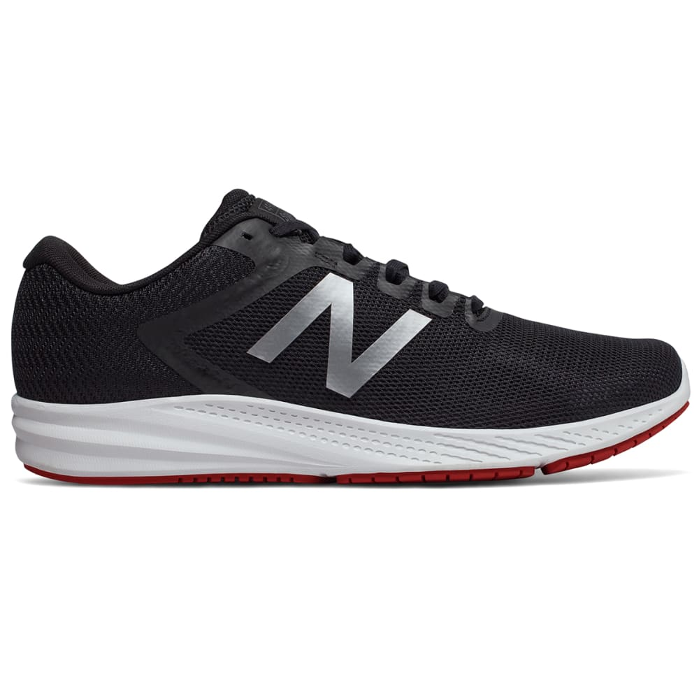 New Balance Men's 490V6 Running Shoes, Wide - Black, 8