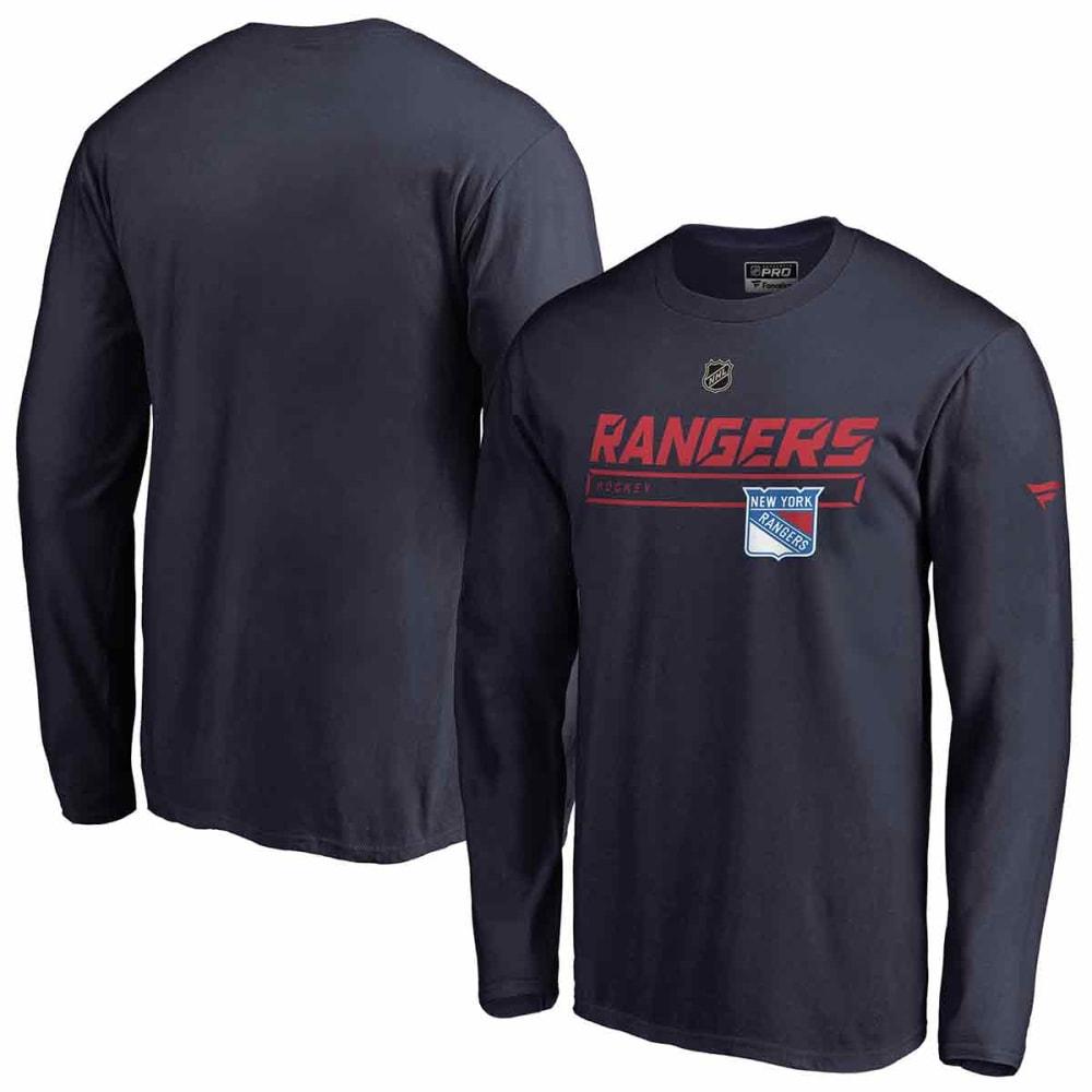NEW YORK RANGERS Men's Authentic Pro Prime Long-Sleeve Tee L