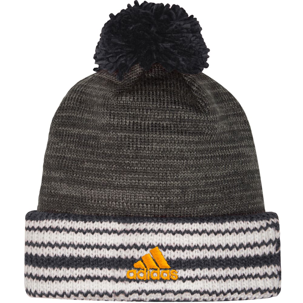 6c570e53e8e adidas Boston Bruins Charcoal Blacktop Cuffed Pom Knit Hat for sale ...