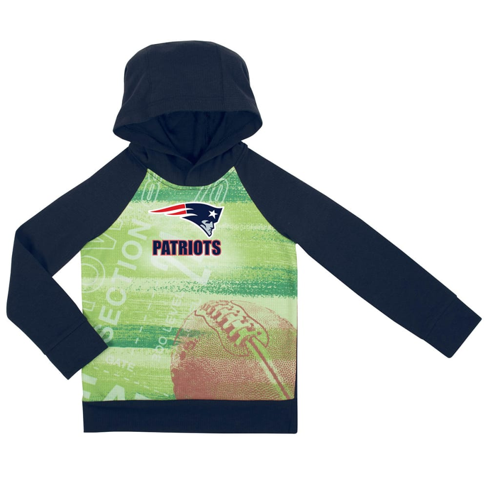 NEW ENGLAND PATRIOTS Toddlers' Sublimated Print Pullover Hoodie - NAVY
