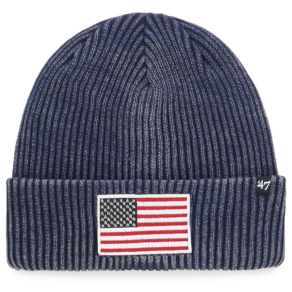 47 BRAND Operation Hat Trick Northwood '47 Cuff Knit Beanie - NAVY