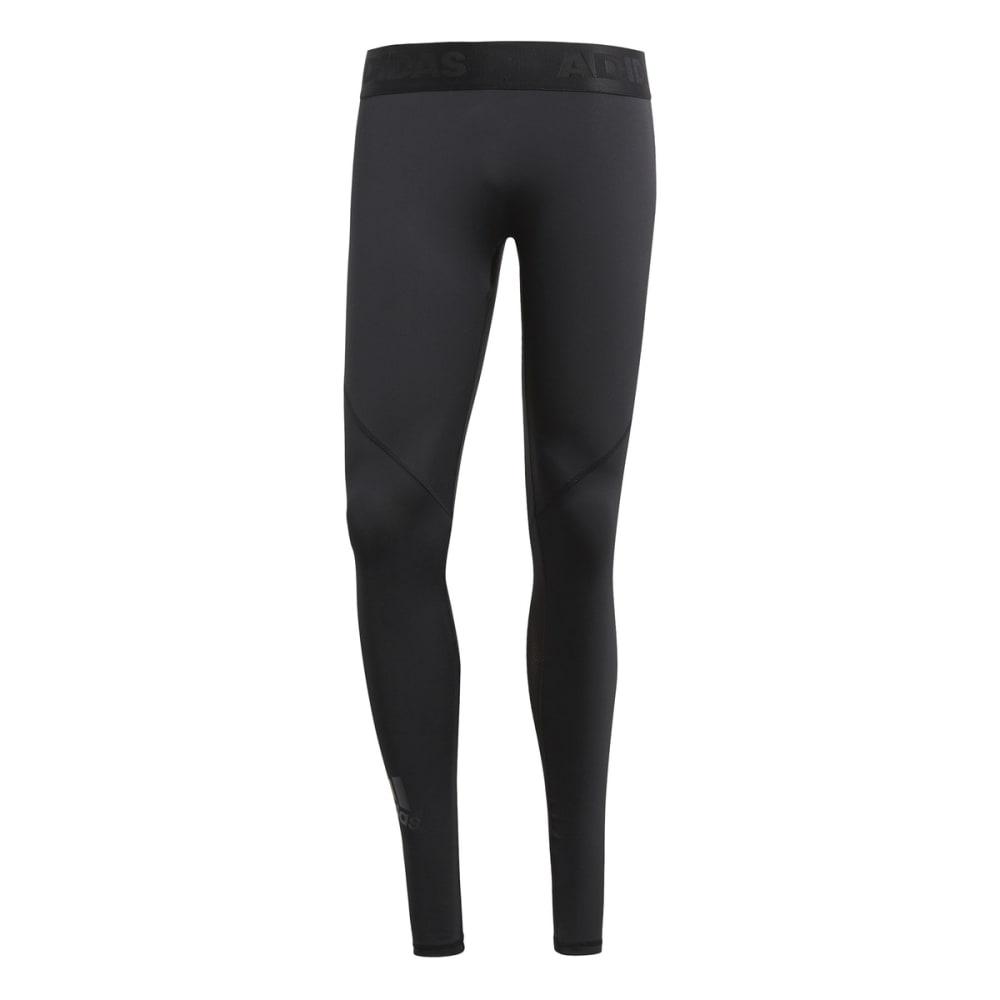 Adidas Men's Alphaskin Sport Tights - Black, L