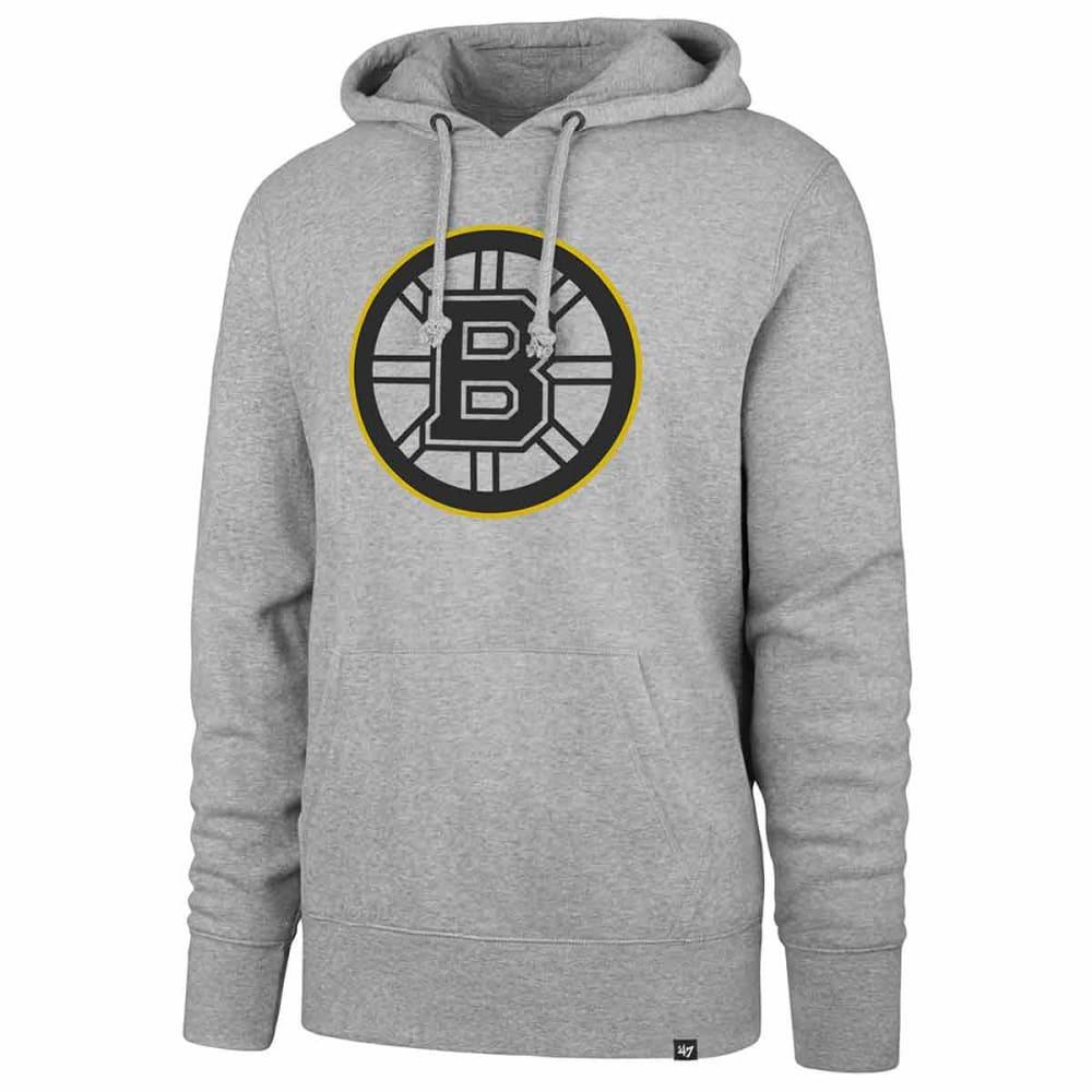 Boston Bruins Men's '47 Headline Pullover Hoodie - Black, M