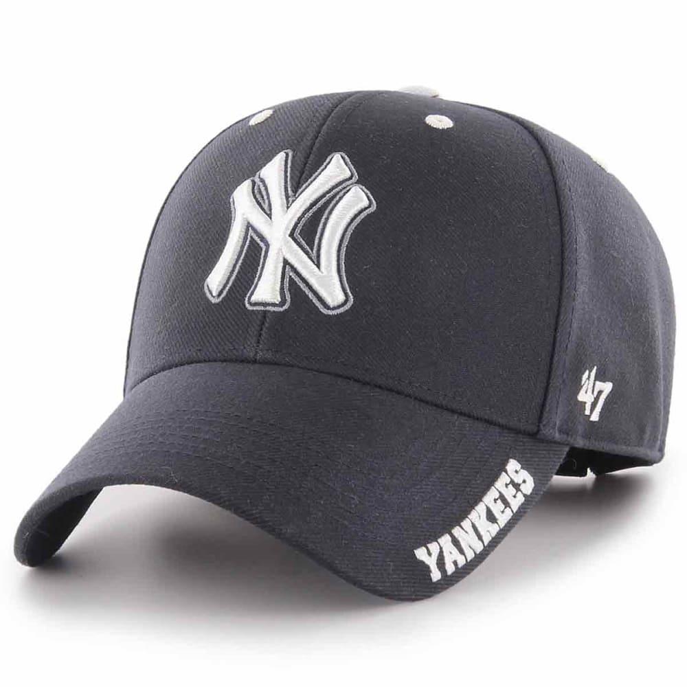 6164fa6f6ab904 NEW YORK YANKEES Men's Defrost '47 MVP Adjustable Cap