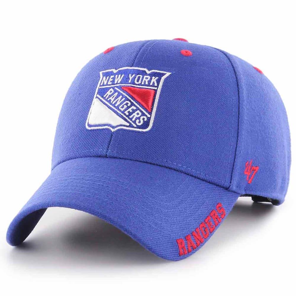 NEW YORK RANGERS Men's Defrost '47 MVP Adjustable Cap - ROYAL BLUE