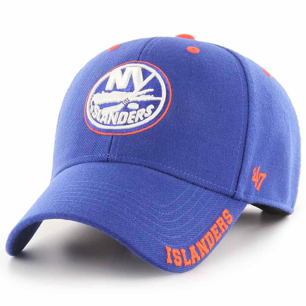 NEW YORK ISLANDERS Men's Defrost '47 MVP Adjustable Cap - ROYAL BLUE