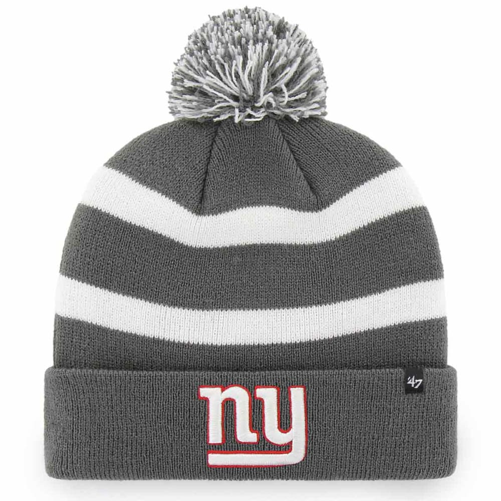 NEW YORK GIANTS '47 Breakaway Cuffed Pom Knit Beanie - CHARCOAL