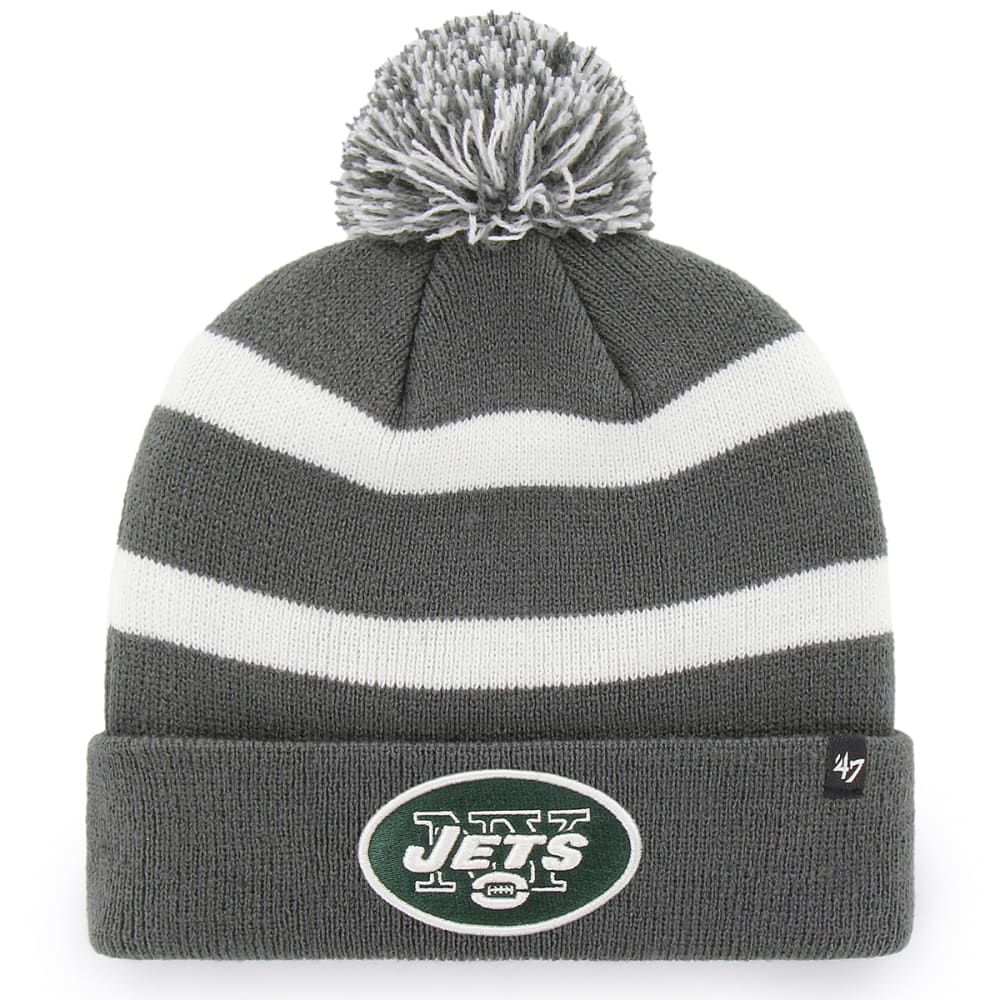 NEW YORK JETS '47 Breakaway Cuffed Pom Knit Beanie - CHARCOAL