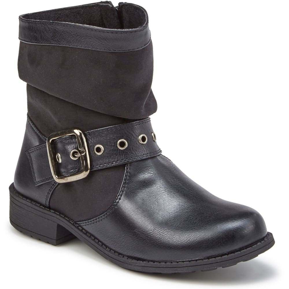 RACHEL SHOES Girls' Parker Boots - BLK/BLK