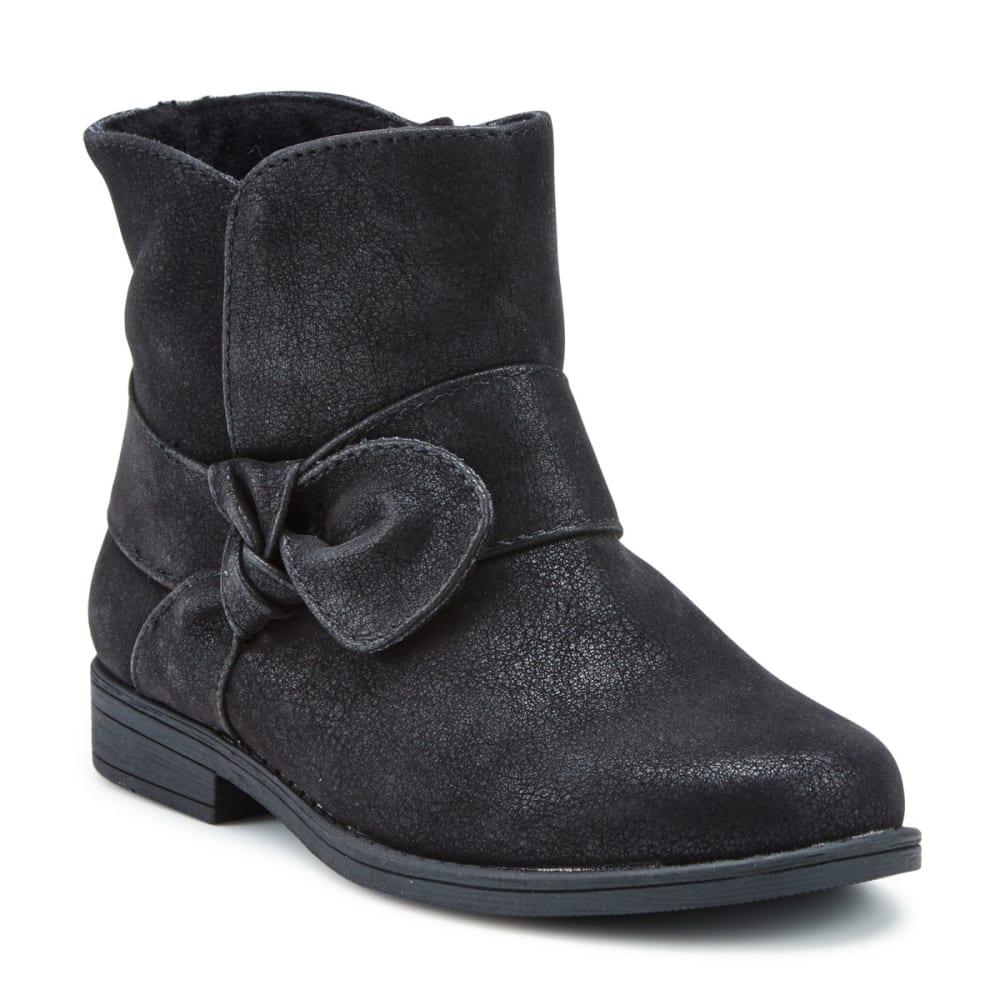 Rachel Shoes Toddler Girls' Lil Harlow Booties - Black, 7