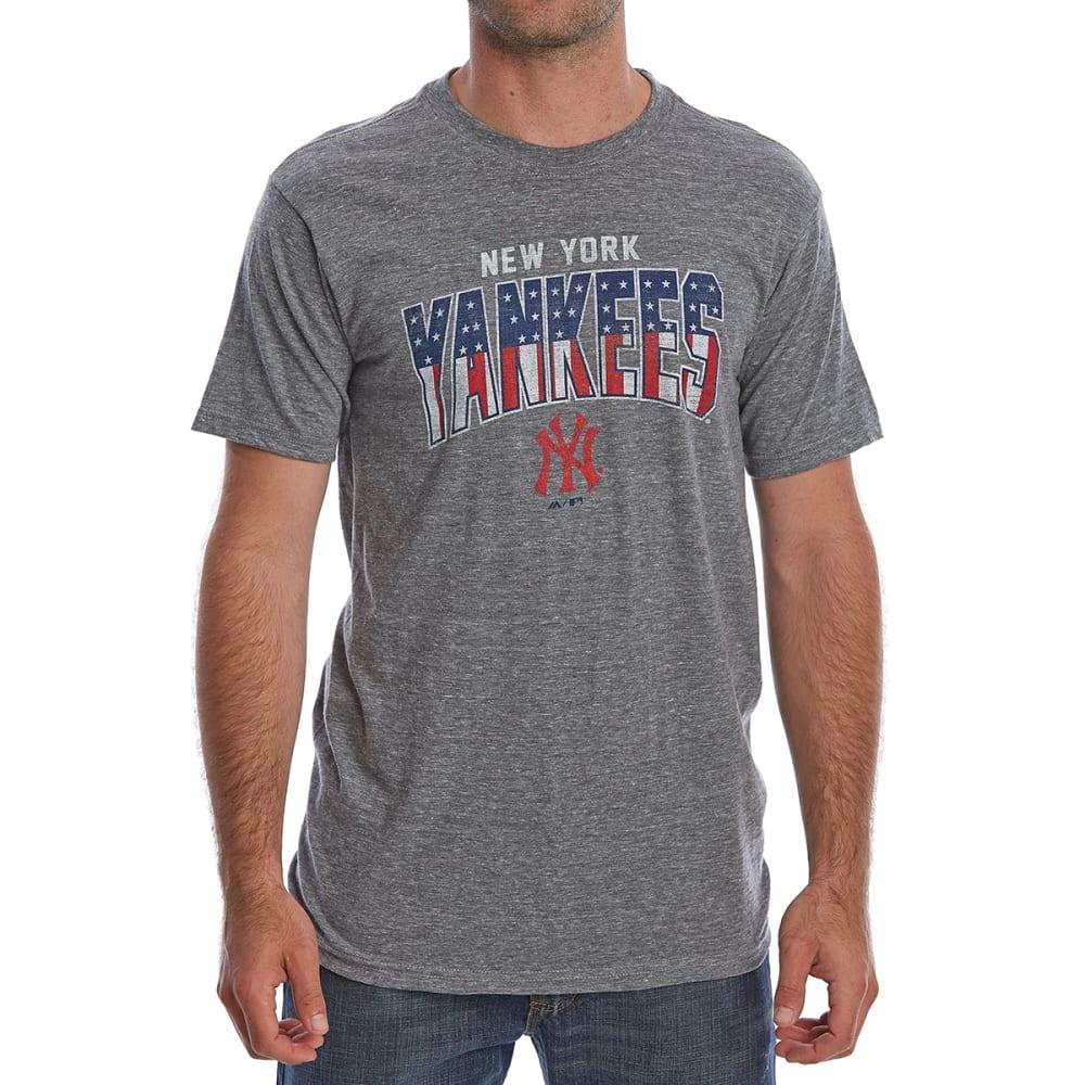 NEW YORK YANKEES Men's Americana Short-Sleeve Tee - GREY