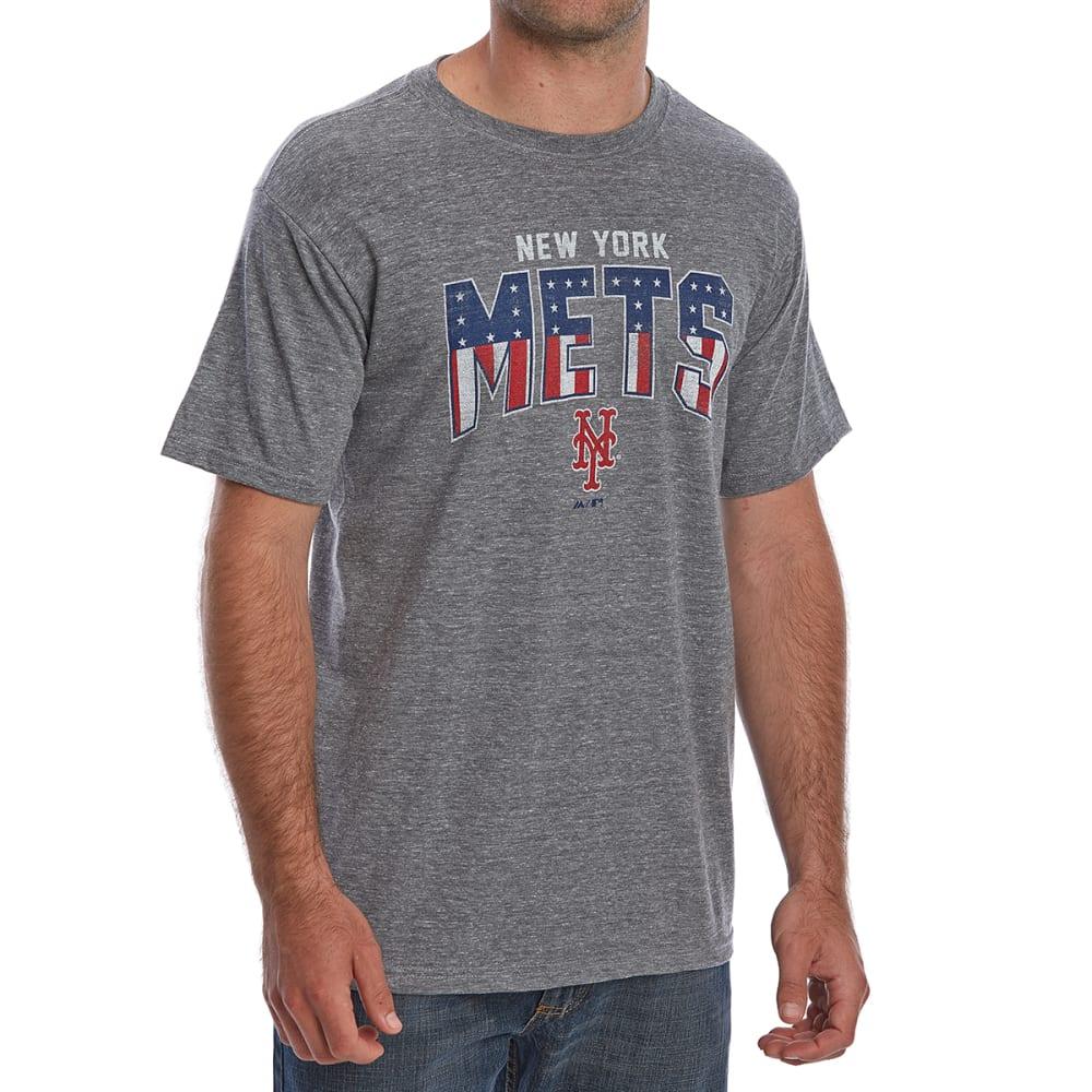 NEW YORK METS Men's Americana Short-Sleeve Tee - GREY