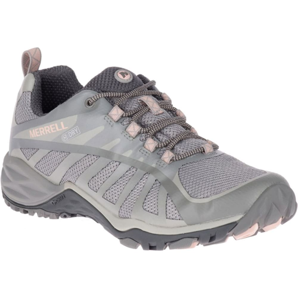 Merrell Women's Siren Edge Q2 Low Hiking Shoes - Black, 6