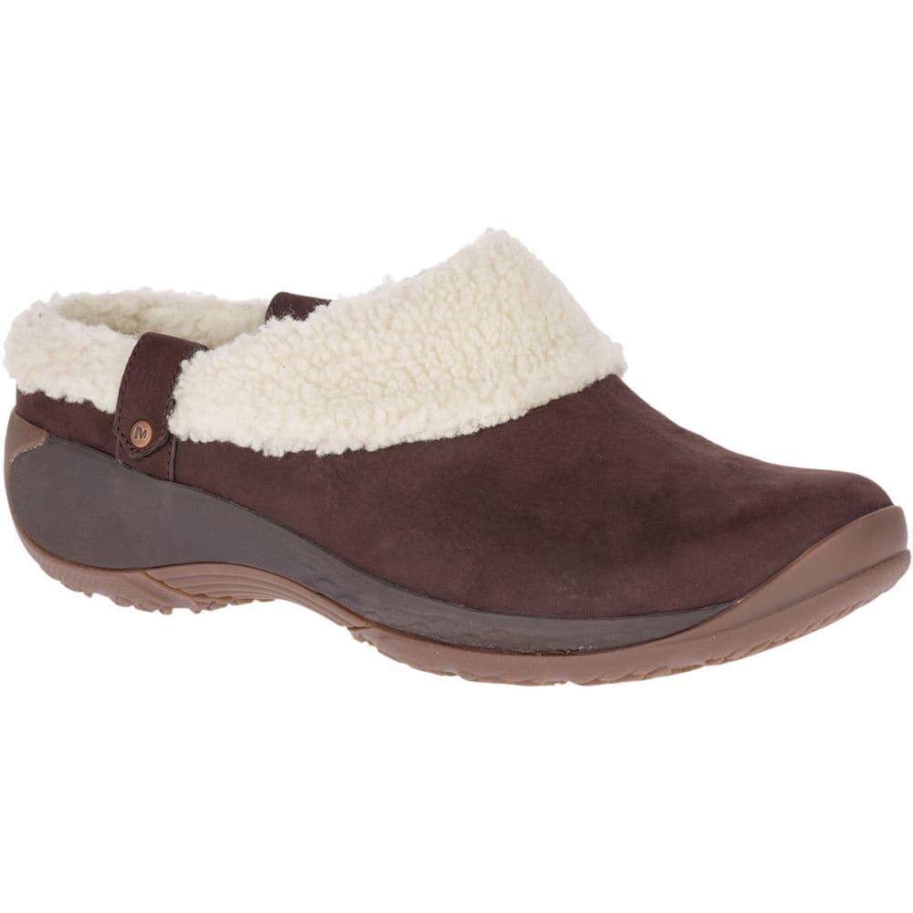 Merrell Women's Encore Ice Slide Q2 Casual Slip-On Shoes - Brown, 7