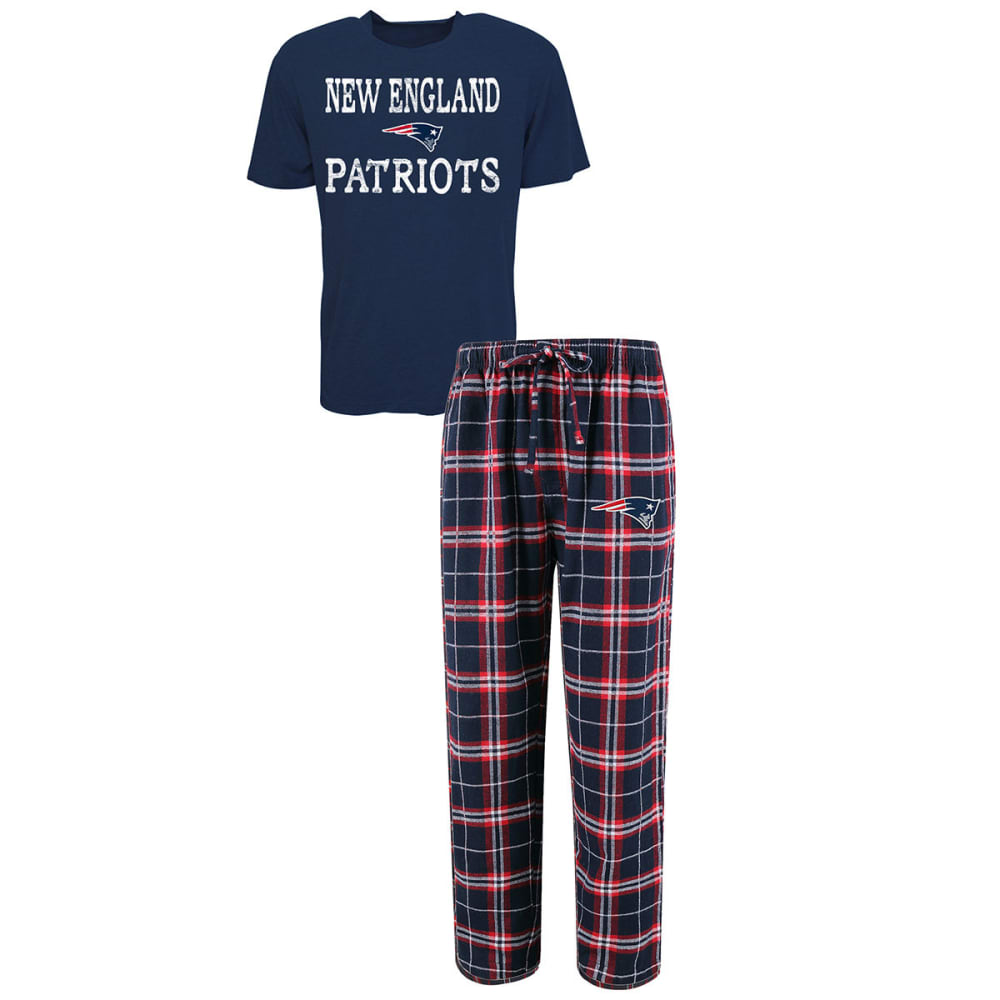 NEW ENGLAND PATRIOTS Men's Duo Sleep Set - NAVY