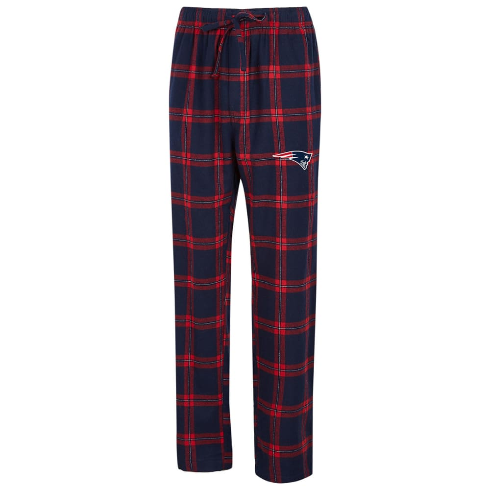 NEW ENGLAND PATRIOTS Men's Homestretch Flannel Pajama Pants - NAVY
