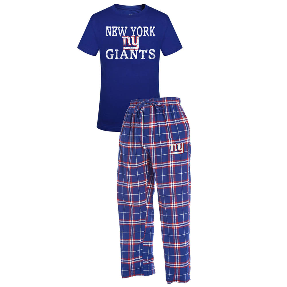 NEW YORK GIANTS Men's Duo Sleep Set - BLUE