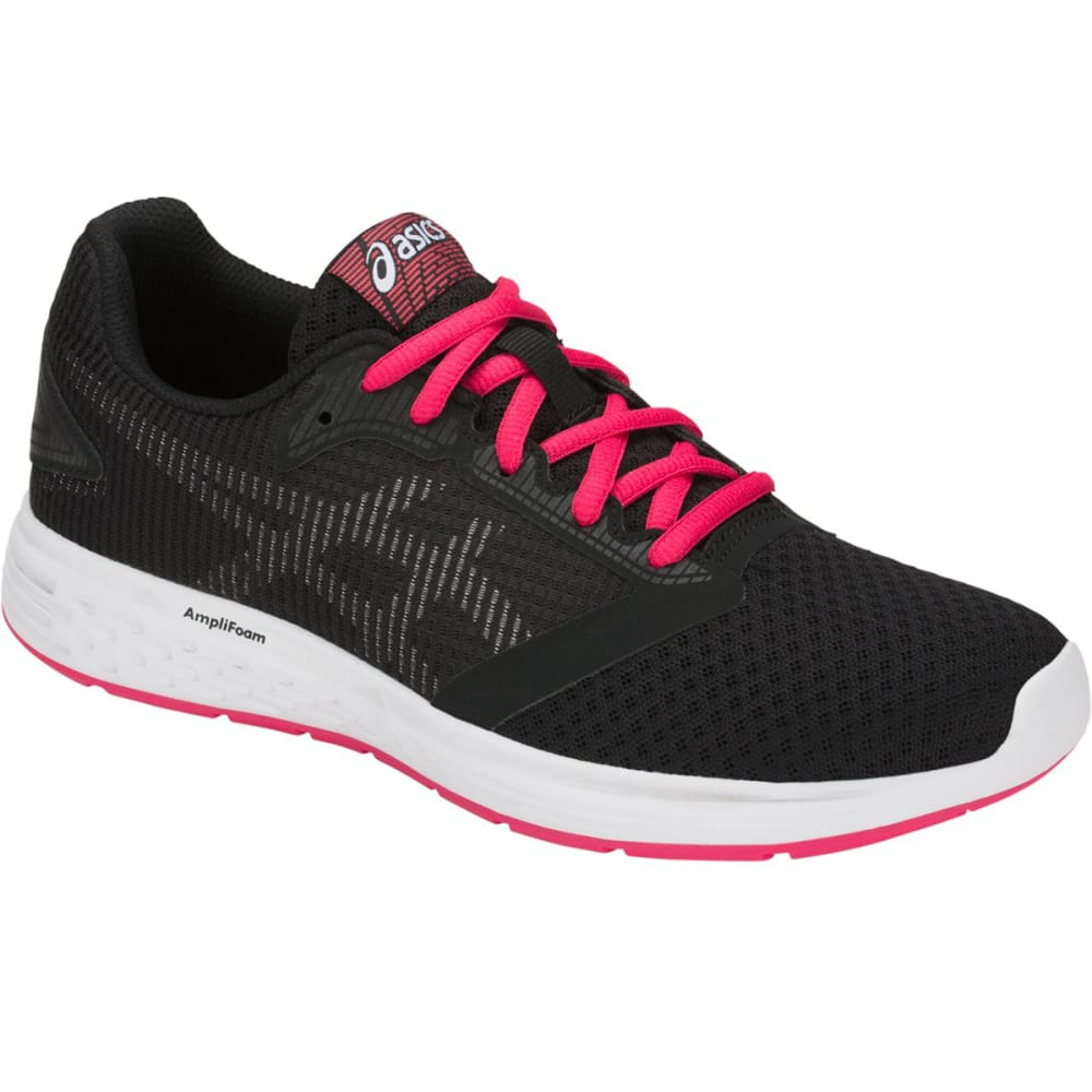 ASICS Women's Patriot 10 Running Shoes - BLACK-001