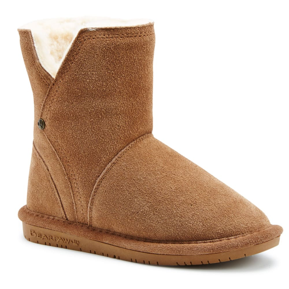 BEARPAW Big Girls' Pam Boots - HICKORY-220