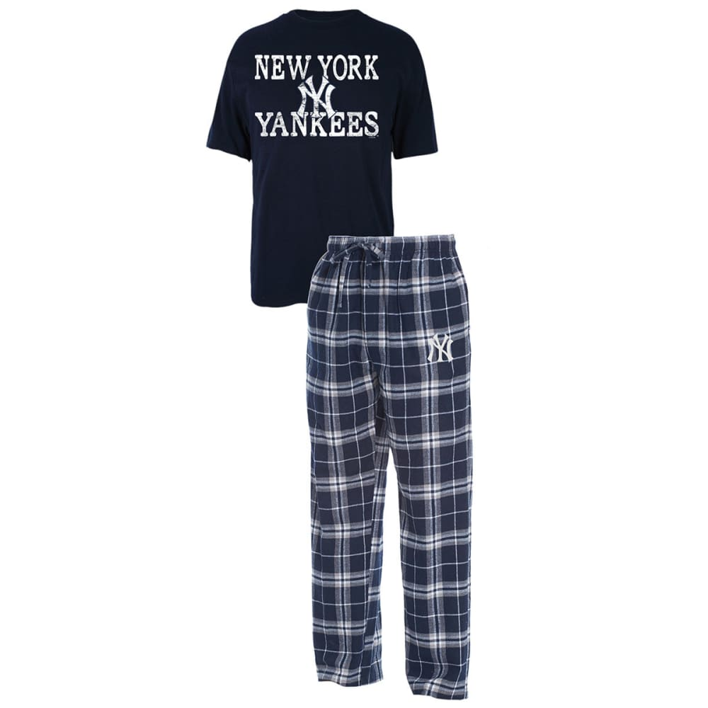NEW YORK YANKEES Men's Duo Sleep Set - NAVY