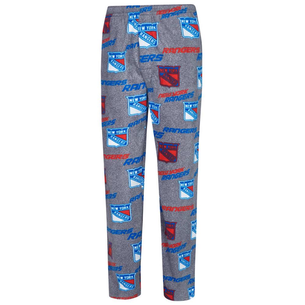 NEW YORK RANGERS Men's Achieve Fleece Pants - GREY