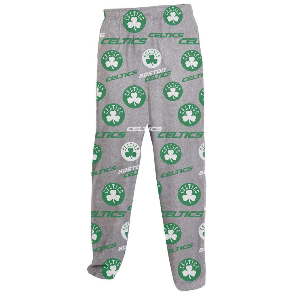 BOSTON CELTICS Men's Achieve Fleece Pants - GREY