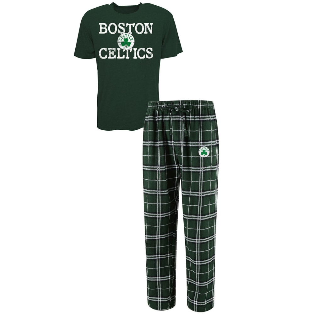 BOSTON CELTICS Men's Duo Sleep Set - GRN/BLK