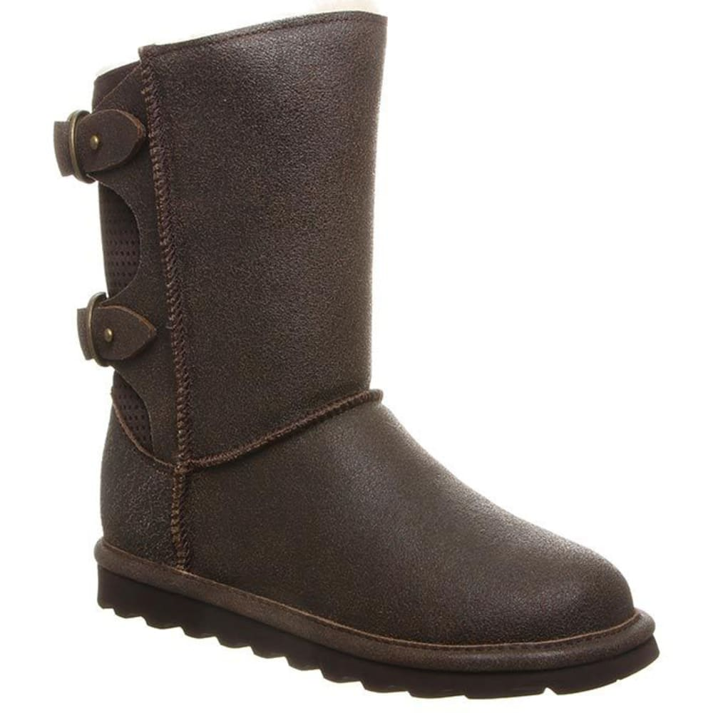 BEARPAW Women's 8 in. Clara Perforated Boots 6