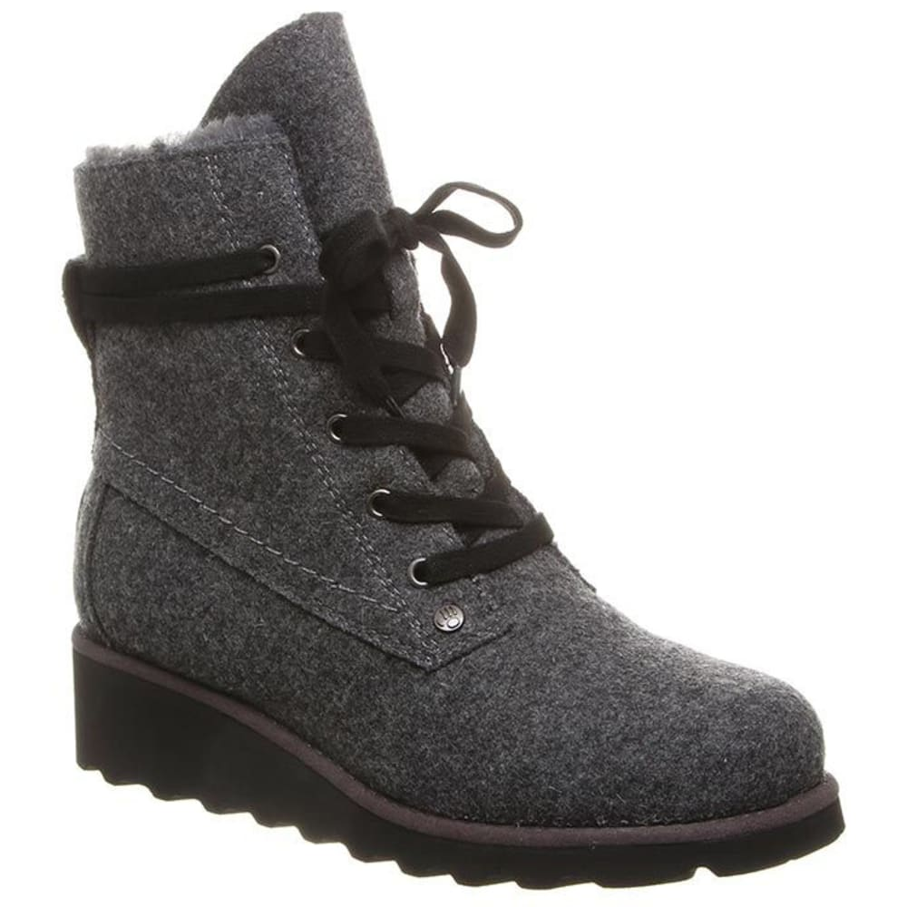 BEARPAW Women's Krista Boots - GREY WOOL-055
