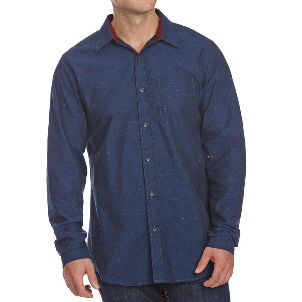 OCEAN CURRENT Guys' Standard Woven Long-Sleeve Shirt S