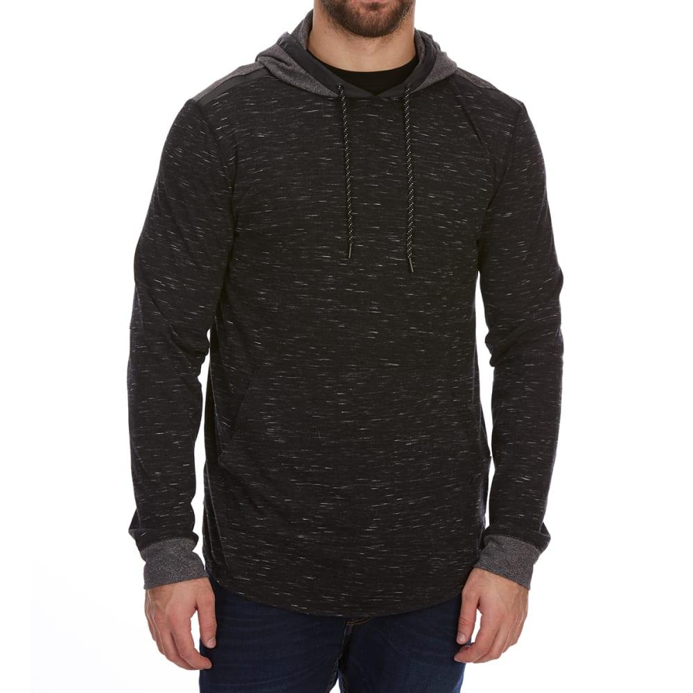 OCEAN CURRENT Guys' Darth Jersey Pullover Hoodie - BLACK