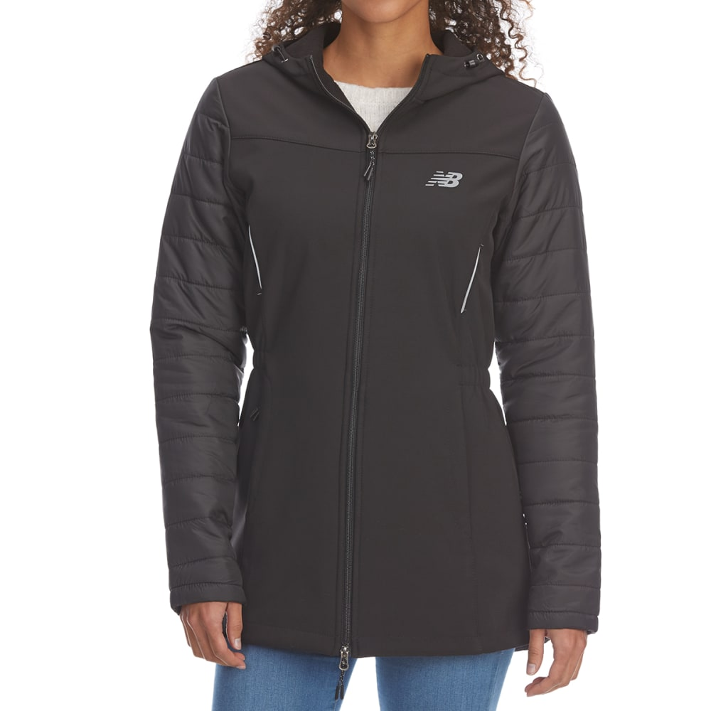 New Balance Women's Softshell Anorak Jacket - Black, S