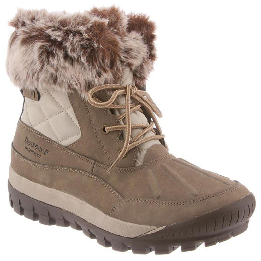 BEARPAW Women's Becka Waterproof Short Boots 9
